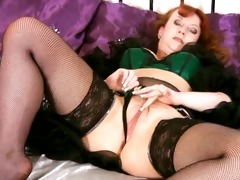 housewife with breasty milk shakes fingering her