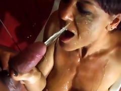 older wench very hard throatfucked