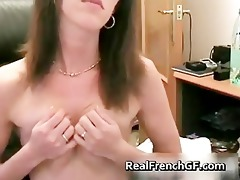 webcam french babe fingering her cum-hole part11
