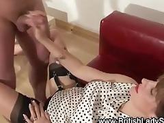 dong teasing lady sonia spunk flow