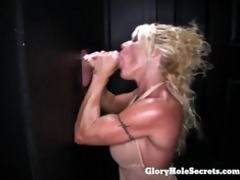 gloryhole secrets gina cum loving fitness mother i