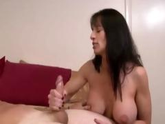 large boobs stepmom brings enjoyment