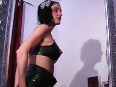 breasty latex d like to fuck toying