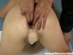 barefaced housewife fist drilled in her ruined