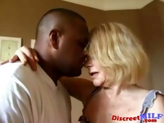 smutty grandma acquires ghetto darksome dick