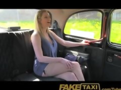 faketaxi golden-haired with large natural tits