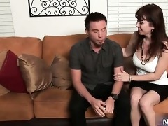 hawt chick gives great erotic massage part3