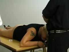 coarse and perverted interrogation