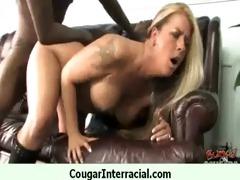 cougar with large mangos seduces juvenile