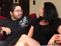 hubby enjoyed wife got fucked