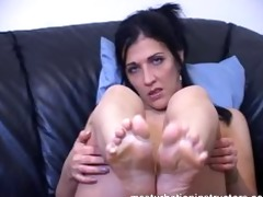 wish a footjob the teacher is willing to give you
